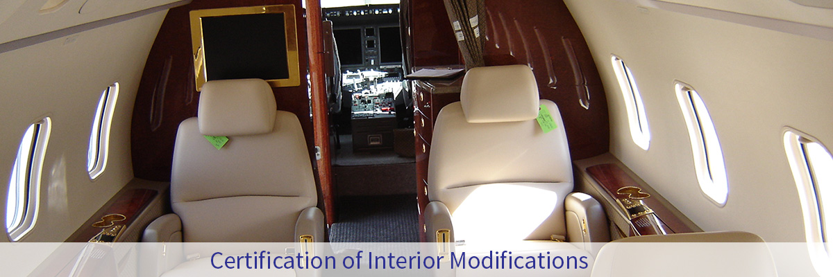 Challenger 300 Interior Certification